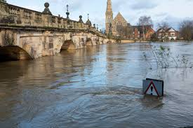 Image result for flooding in shrewsbury 2020